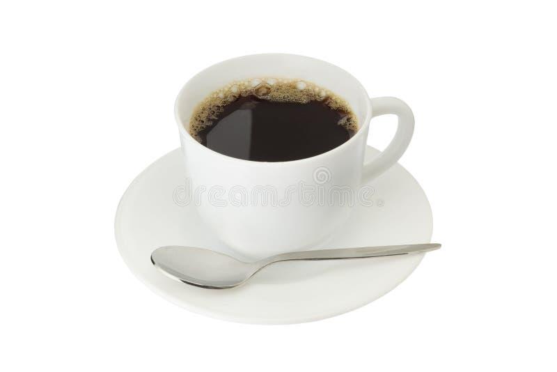Isolerat kaffe royaltyfri foto