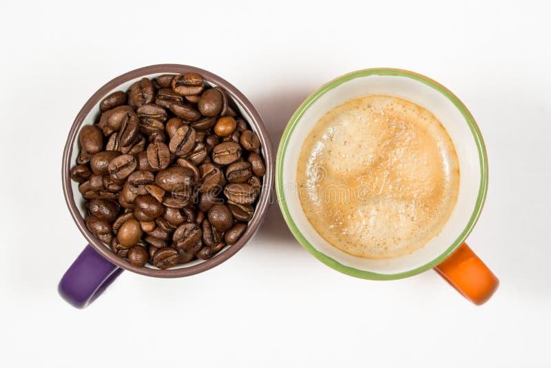 Kaffe två rånar 04 royaltyfri fotografi