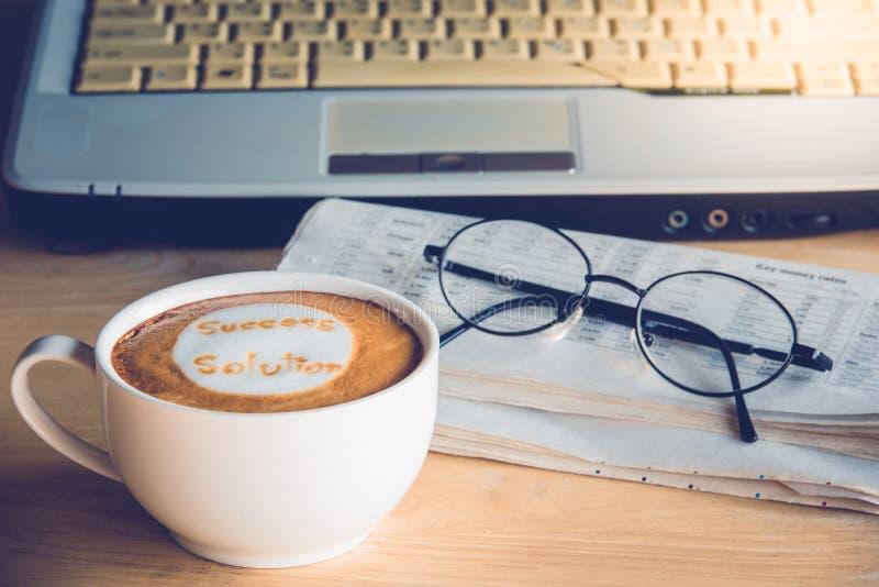 Kaffeaffär royaltyfria bilder