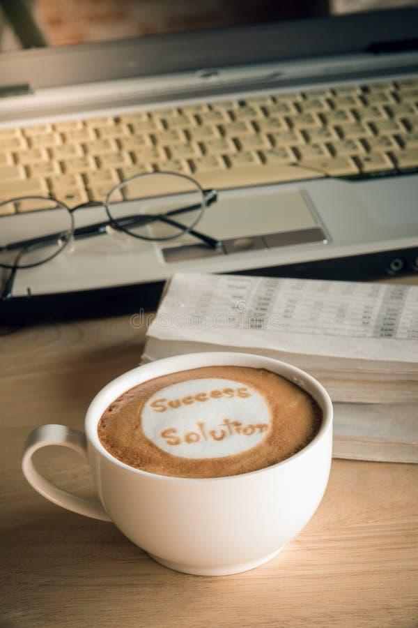 Kaffeaffär fotografering för bildbyråer