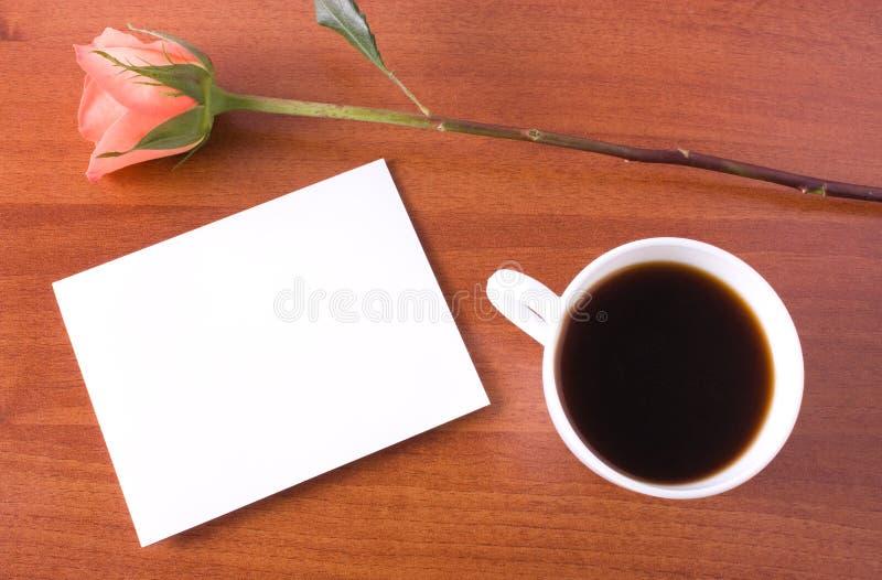 kaffeanmärkning royaltyfria bilder