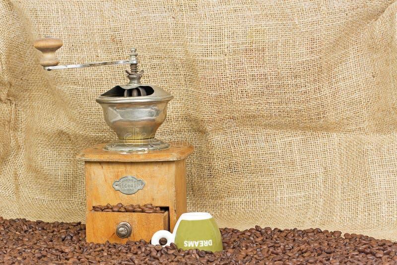 kaffedrömmar fotografering för bildbyråer