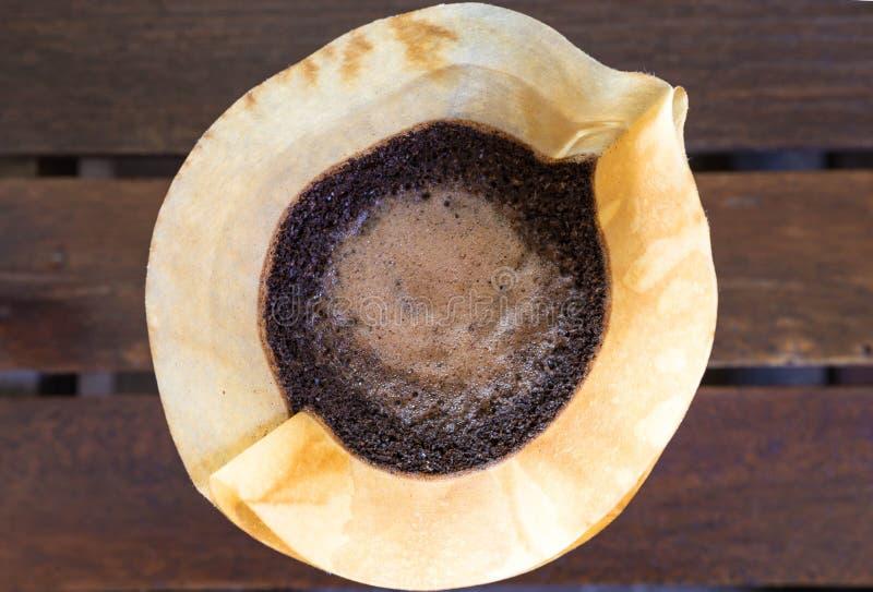 Kaffedroppande fotografering för bildbyråer