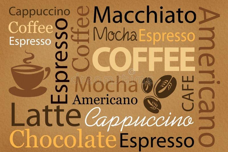 Kaffee stock abbildung