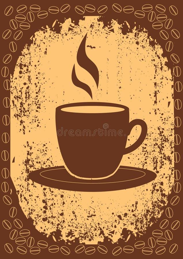 Kaffee. lizenzfreie abbildung