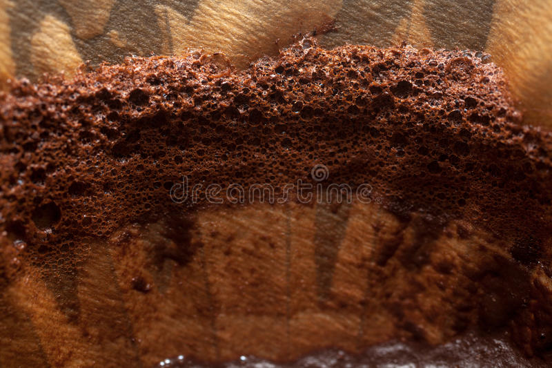 Kaffee Beeing gefiltert lizenzfreie stockbilder