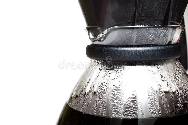 Kaffee Beeing gefiltert stockbild