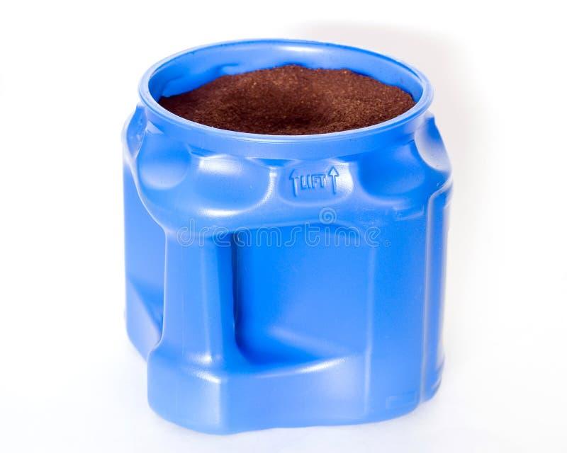 Kaffee-Behälter stockfotografie