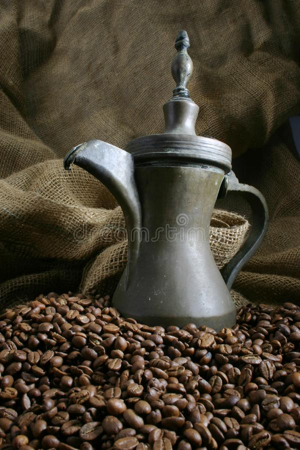 Kaffee Entwarf 4 Stockbild