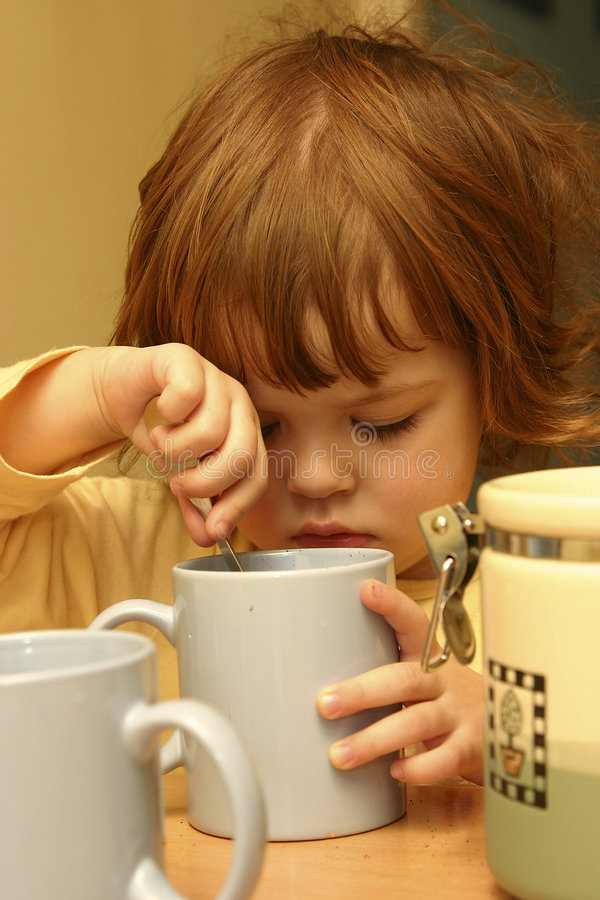 Kaffee für alle lizenzfreies stockbild