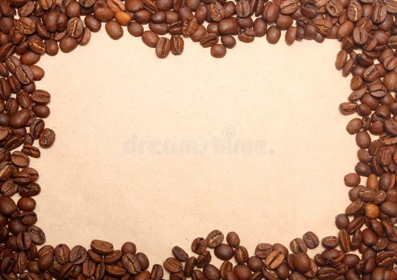 Kaffee grunge Hintergrund stockfotos