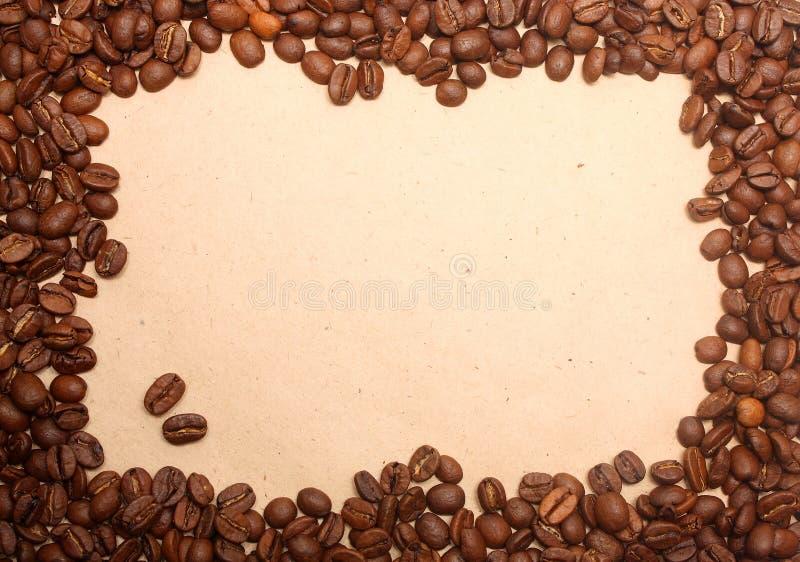 Kaffee grunge Hintergrund stockfotografie