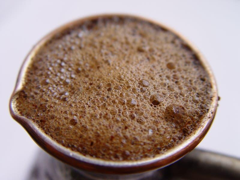 Kaffee Ibrik stockbild