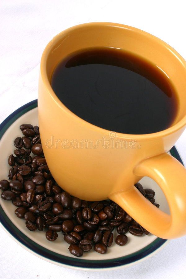 Kaffee jedermann? lizenzfreie stockbilder