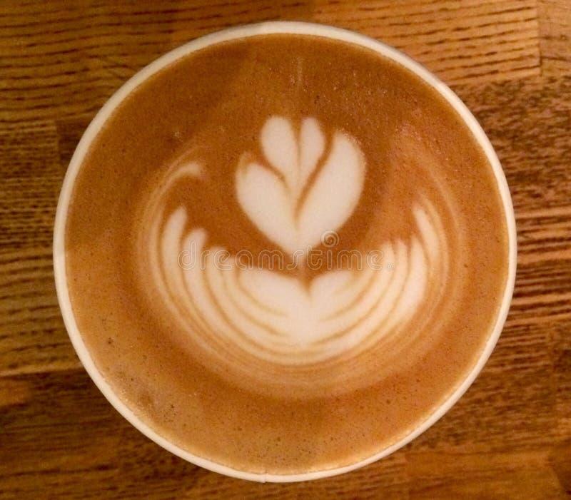 Kaffee-Kunst stockfotos