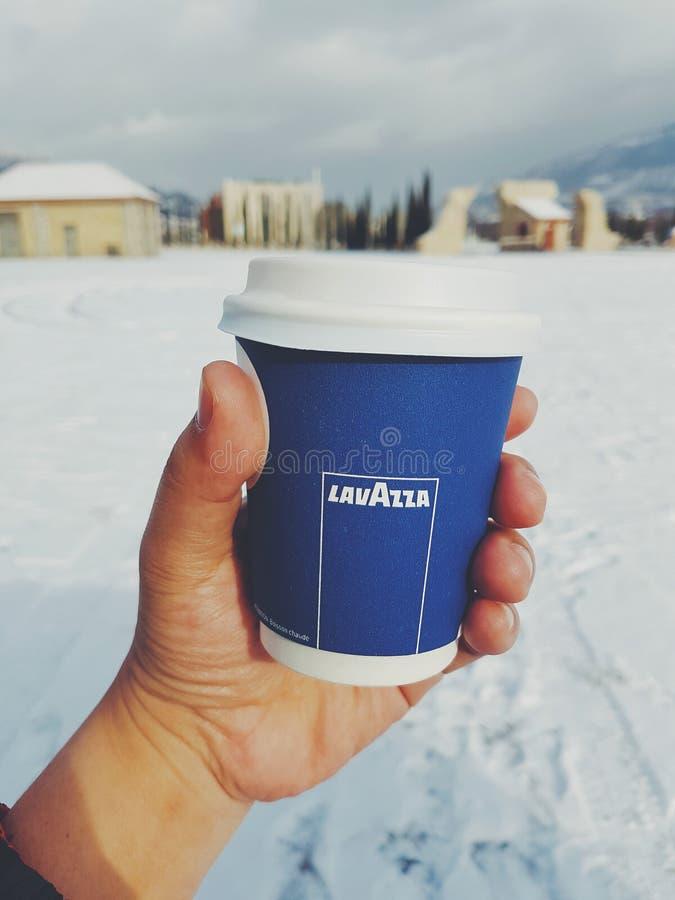Kaffee lavazza lizenzfreie stockfotos