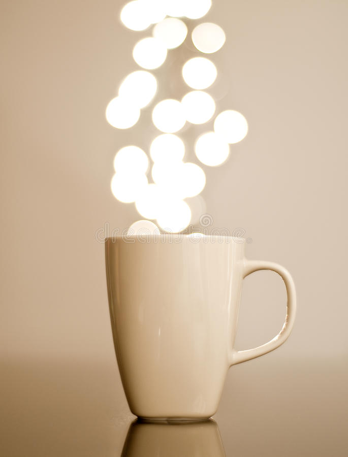 Kaffee Lumiere lizenzfreies stockbild