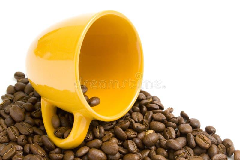 Kaffee mit Cup. stockbilder