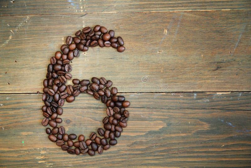 Kaffee Nr. sechs lizenzfreies stockbild