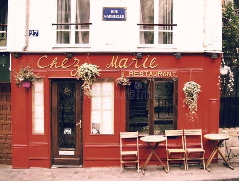 Kaffee in Paris lizenzfreie stockfotos
