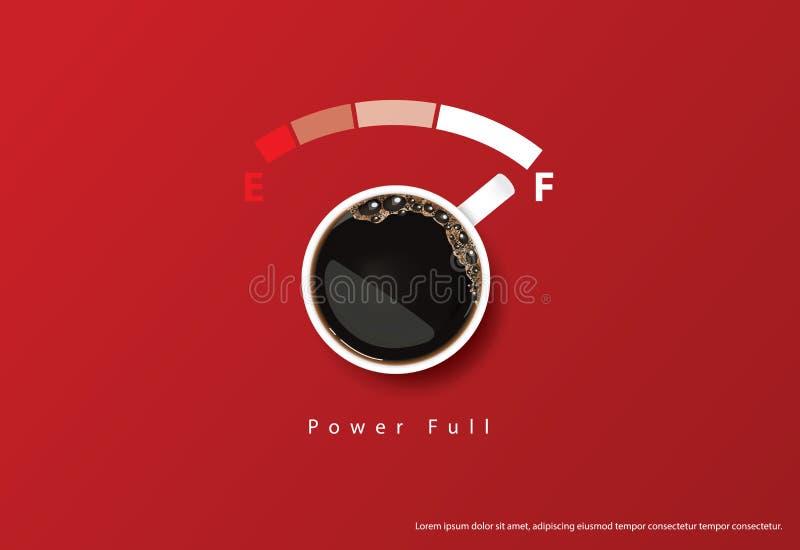 Kaffee-Plakat-Anzeige Flayers lizenzfreie abbildung