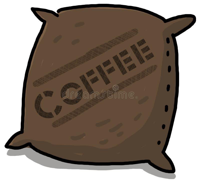 Kaffee-Sack vektor abbildung