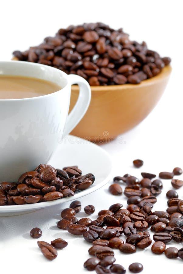 Kaffee-Serie 02 stockbild