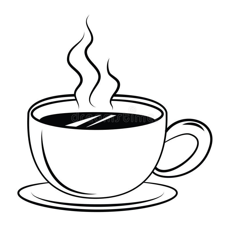 Kaffee-Symbol vektor abbildung. Illustration von system - 47879370