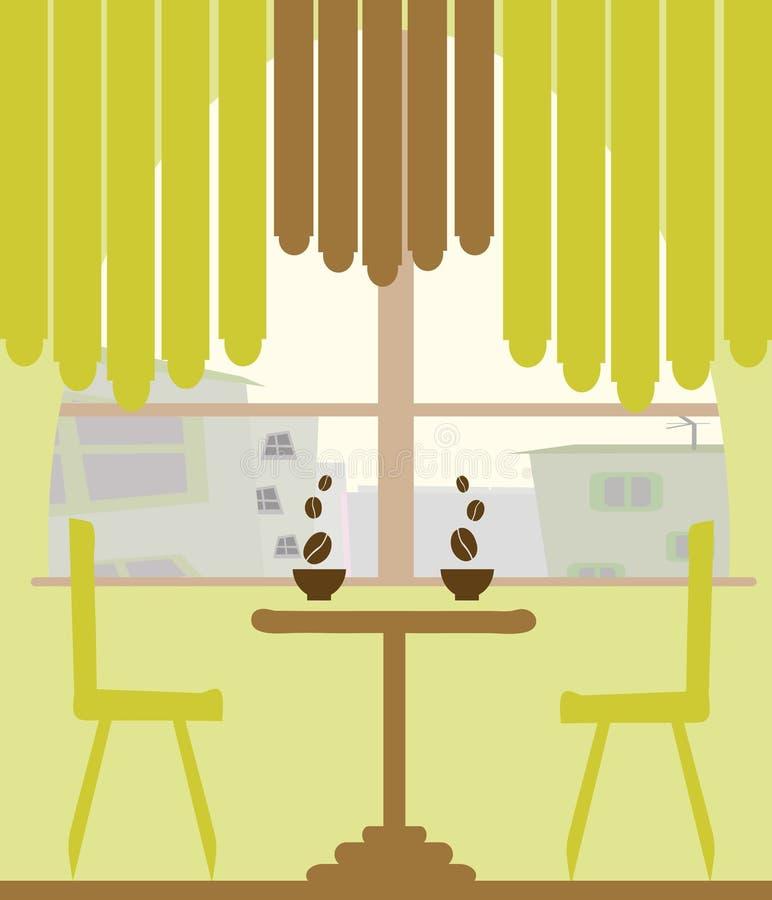 Kaffee und Kaffee vektor abbildung