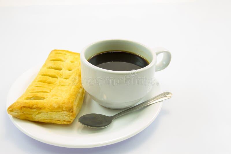 Kaffee und Torte stockfotos