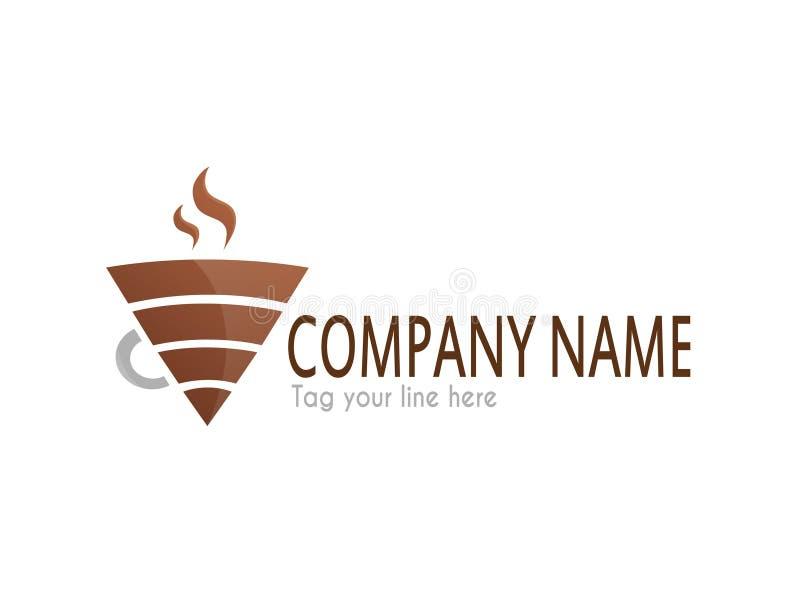 Kaffee wifi Logo vektor abbildung