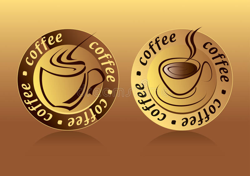 Kaffee-Zeichen vektor abbildung