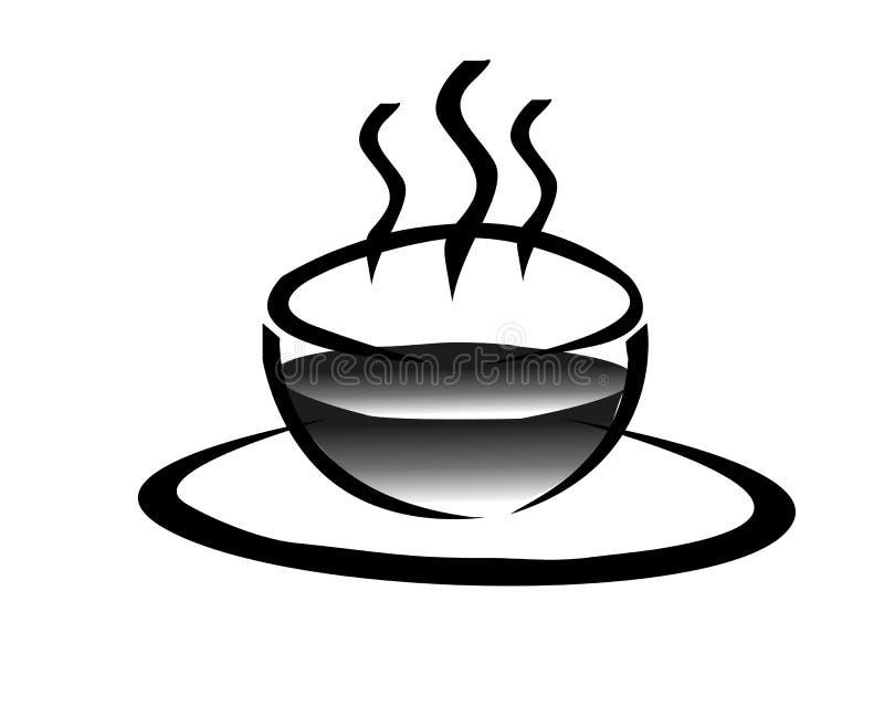Kaffee zum Frühstück stockfoto
