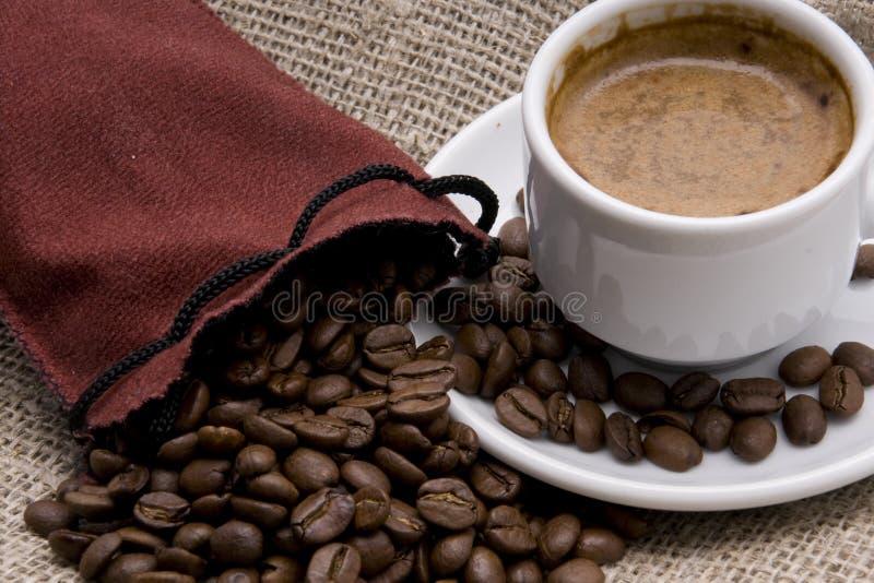 Kaffeebeutel stockfotos