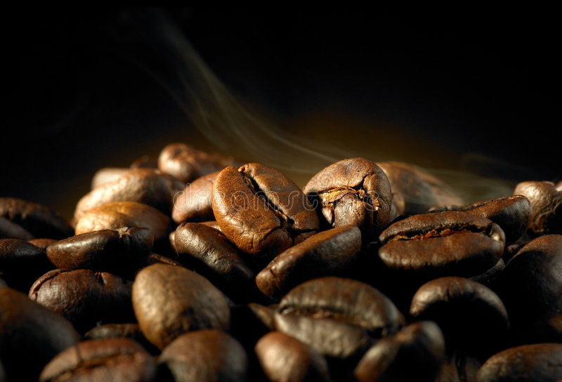 Kaffeebohne lizenzfreie stockfotos