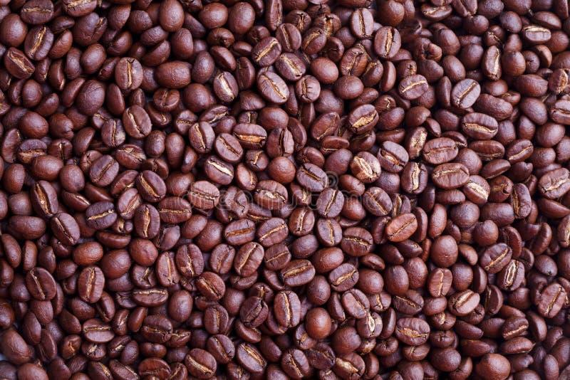 Kaffeebohne-Beschaffenheitshintergrund stockbilder