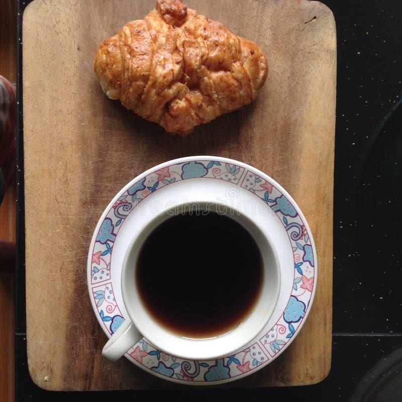 Kaffeebrot lizenzfreies stockbild
