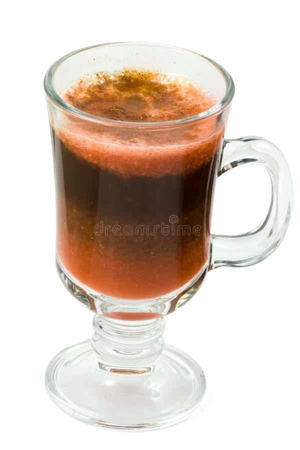 Kaffeecocktail lizenzfreie stockfotos