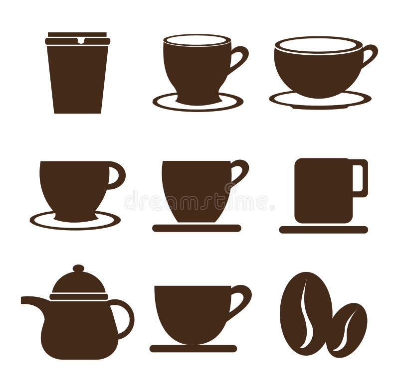 Kaffeedesign vektor abbildung