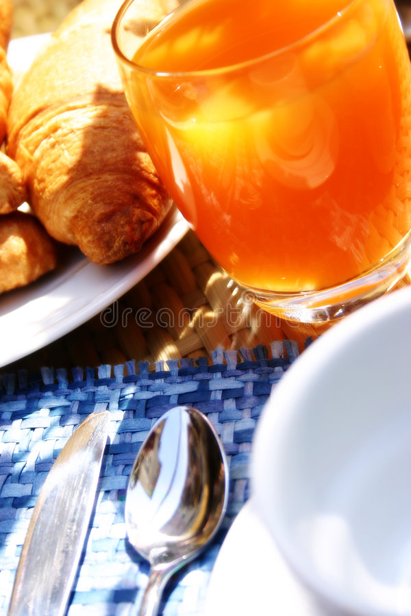 Kaffeefrühstück stockbild