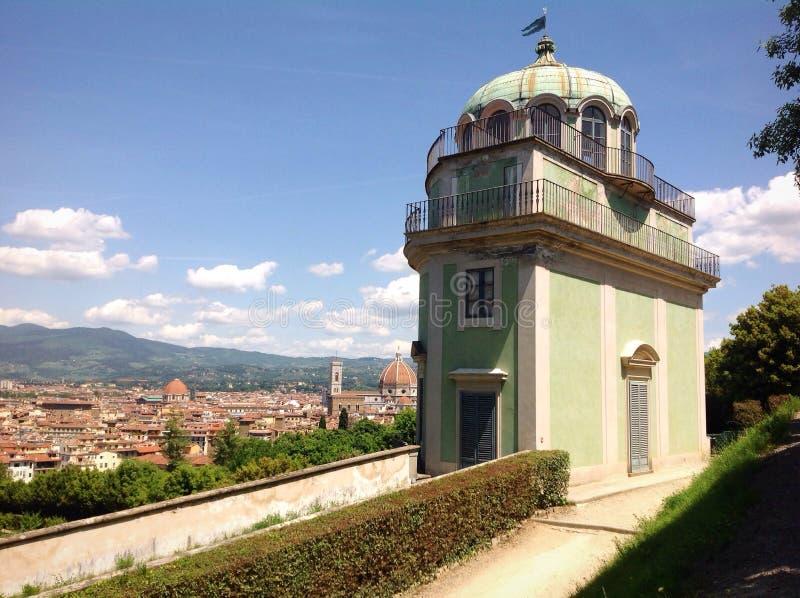 Kaffeehaus en Boboli cultiva un huerto en Florencia, Italia foto de archivo libre de regalías