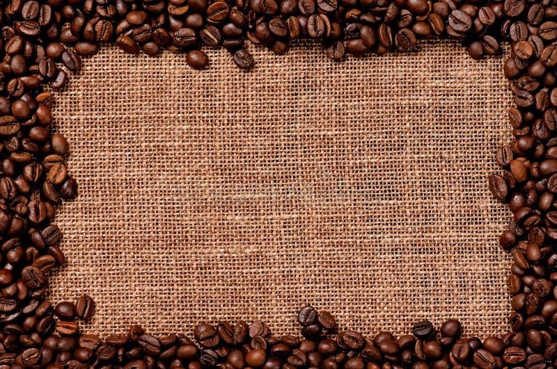 Kaffeehintergrund stockbilder