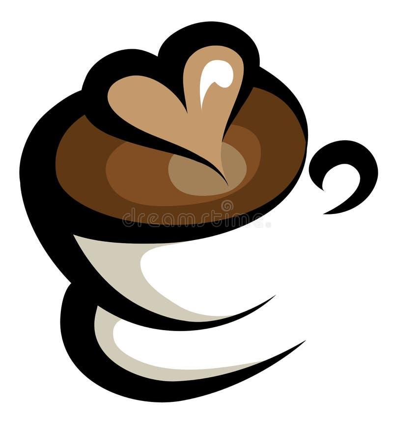 Kaffeeikone stock abbildung