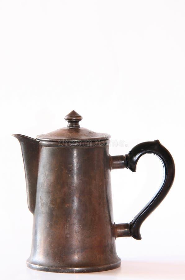 Kaffeekanne lizenzfreie stockfotos