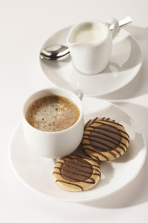 Kaffeemittagessen lizenzfreies stockbild
