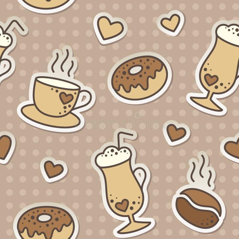 Kaffeemuster
