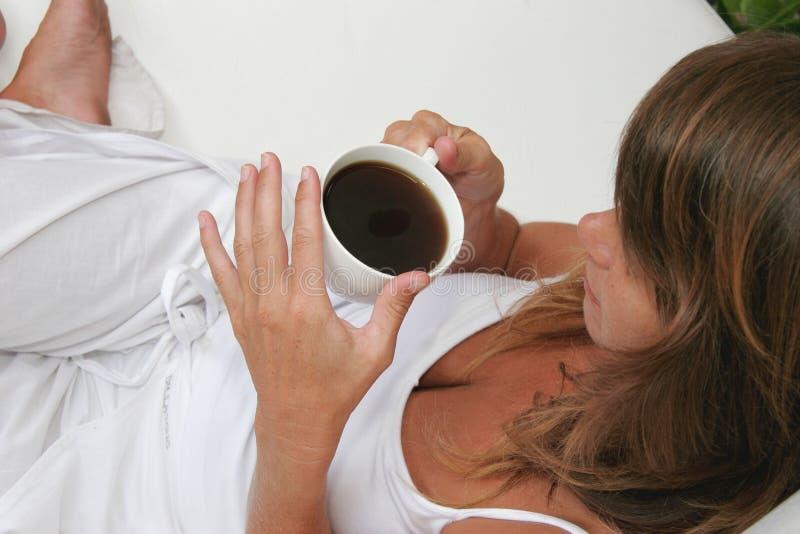 Kaffeepause lizenzfreies stockfoto