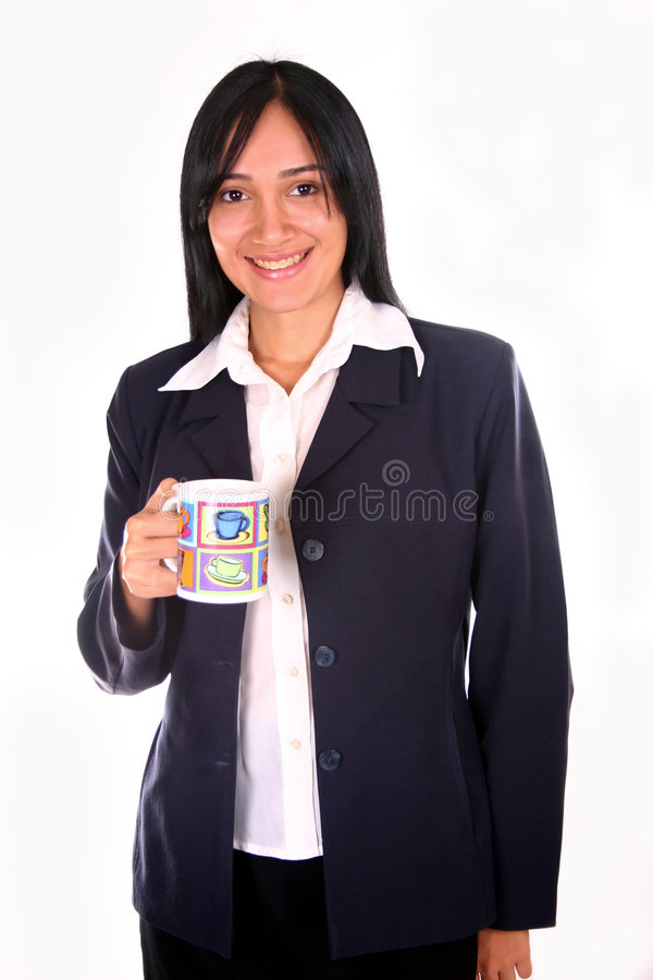 Kaffeepause II lizenzfreie stockbilder