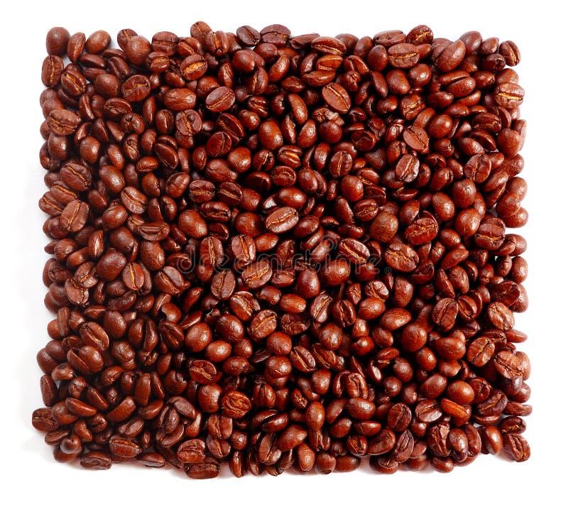 Kaffeequadrat lizenzfreies stockfoto