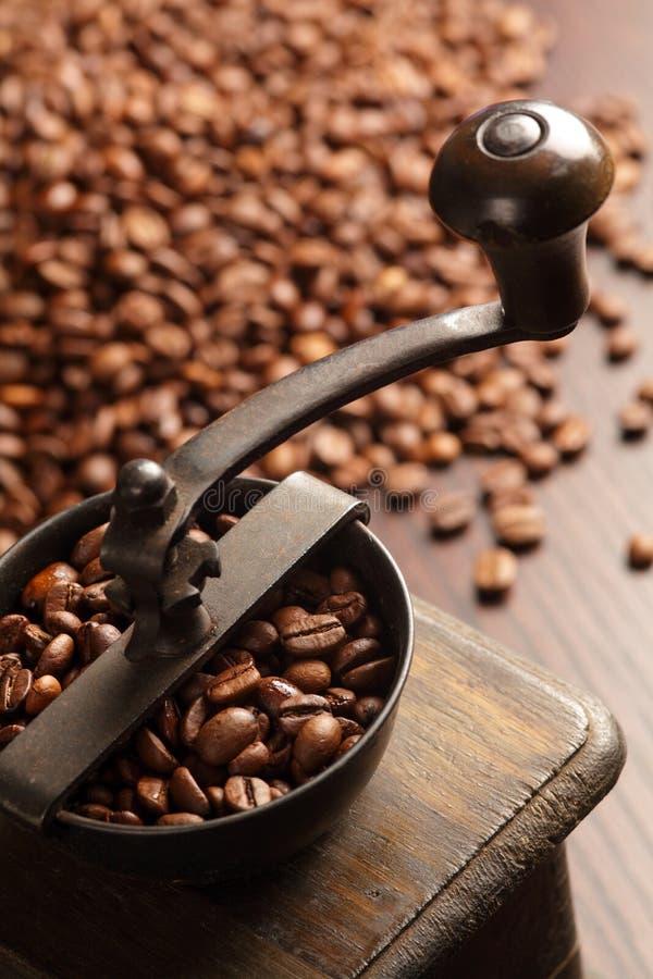 Kaffeeschleifer lizenzfreie stockfotos